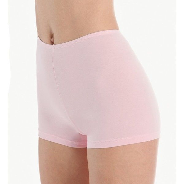 Elita 4070 The Essentials Boy Leg Brief Panty ($18) ❤ liked on Polyvore featuring intimates, panties, high waisted briefs panties, high rise panties, high waisted panties, seamless panties and stretch panties