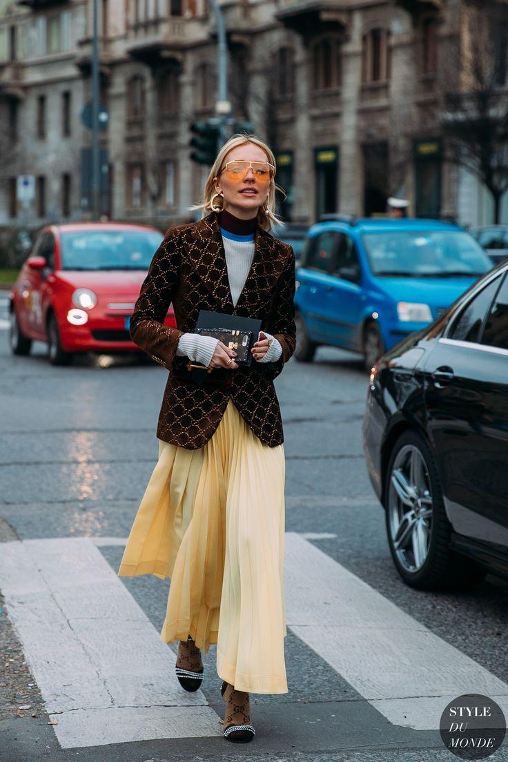 Milan Fw 2018 Street Style Viktoria Rader