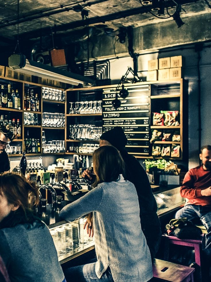 The best bars in Warsaw - Kufle i Kapsle