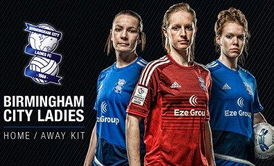 Birmingham City FC Ladies 2016 adidas Home and Away Kits