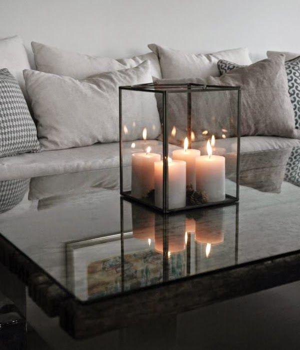 25 best adornos para sala ideas on pinterest luz - Decoracion con velas ...