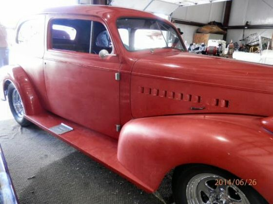 1939 Chevy Master Deluxe 2 Dr Sedan Street Rod Project for
