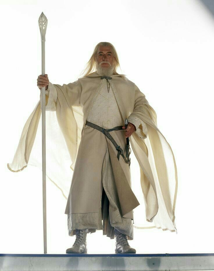 Gandalf portrayed by Sir Ian McKellen