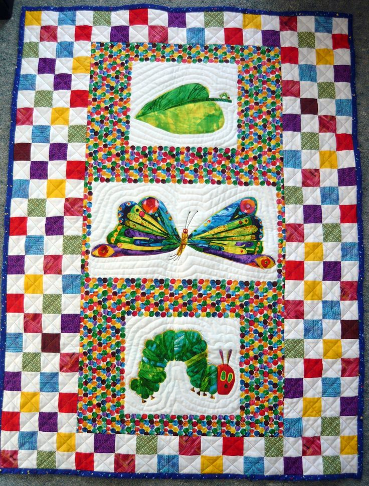 A Hungry Caterpillar panel made up for a Raffle to fund raise for my trip to Cambodia.