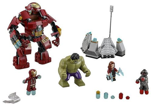 LEGO Marvel Super Heroes Avengers: Age of Ultron The Hulk Buster Smash (76031). Oh my god, i will do anything to get my hands on that set !