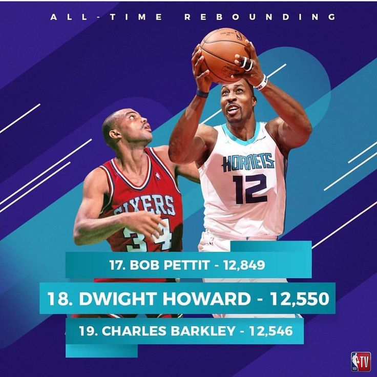 Dwight Howard moves past Charles Barkley on the all time rebounding list #thegodflowshow #dwighthoward #charlesbarkley #nba #hornets #sixers #podcast #sportstalk