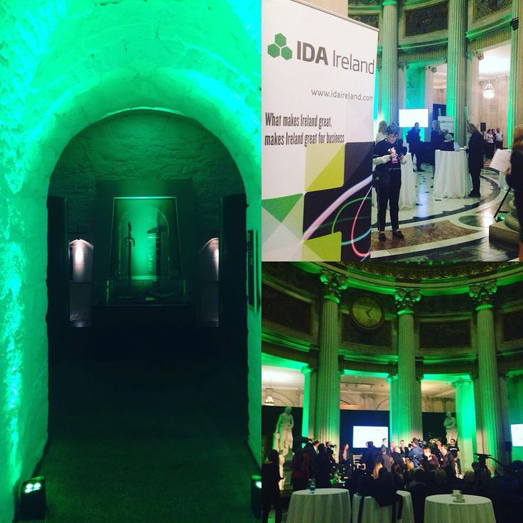 The IDA Why Ireland event at City Hall Dublin