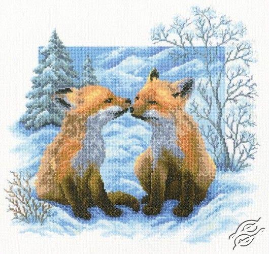 Fox Cubs - Cross Stitch Kits by RTO - M322
