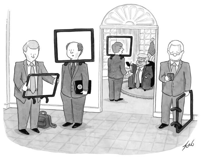 Political cartoons and a daily cartoon from The New Yorker. Check out the latest cartoons, or browse the magazine's archives.
