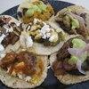 Huarache Azteca Restaurante, 5225 York Blvd, Los Angeles, CA 90042 (masa with carne asada) $