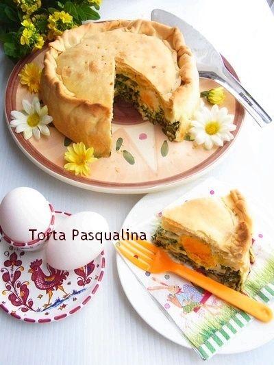 イタリアのイースター・パイ * トルタ・パスクアリーナ Torta Pasqualina