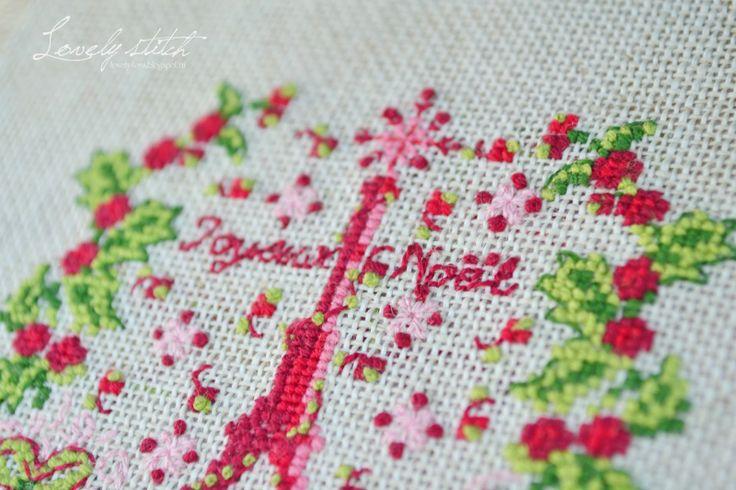 Lovely stitch: Рождество в Париже.
