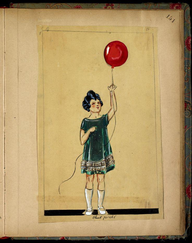 CHAT PERCHE  HIVER 1923-24 © Patrimoine Lanvin. #Lanvin125