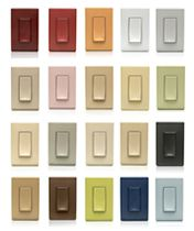Colored Light Switch Plates Fair 27 Best Lighting Controls & Dimmers Images On Pinterest  Wall Decorating Design