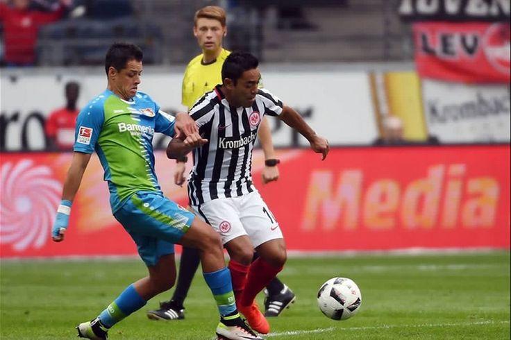 FABIÁN DA EL TRIUNFO AL EINTRACHT; CHICHARITO ANOTA Y FALLA PENAL El encuentro entre Frankfurt y Bayer finaliza con marcador de 2-1. Javier Hernández y Marco Fabián, con destacada participación en futbol alemán.