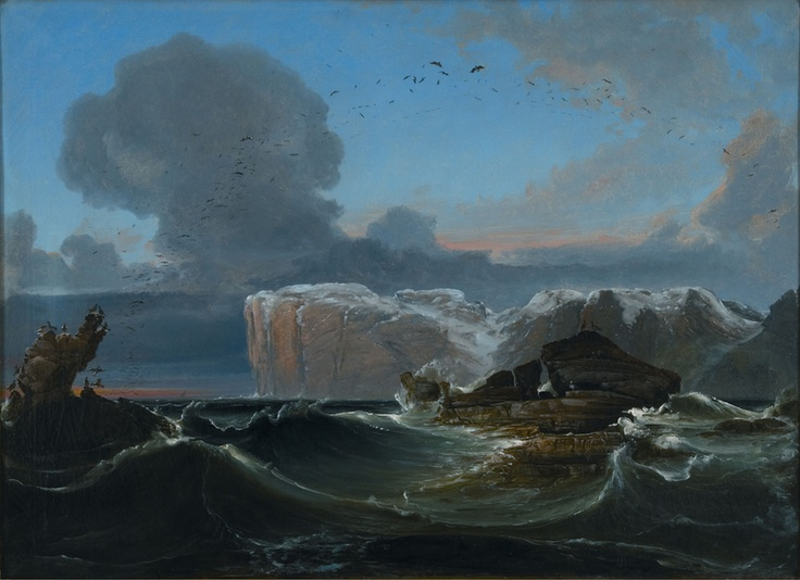 Peder Balke (1804-1887): North Cape, 1845
