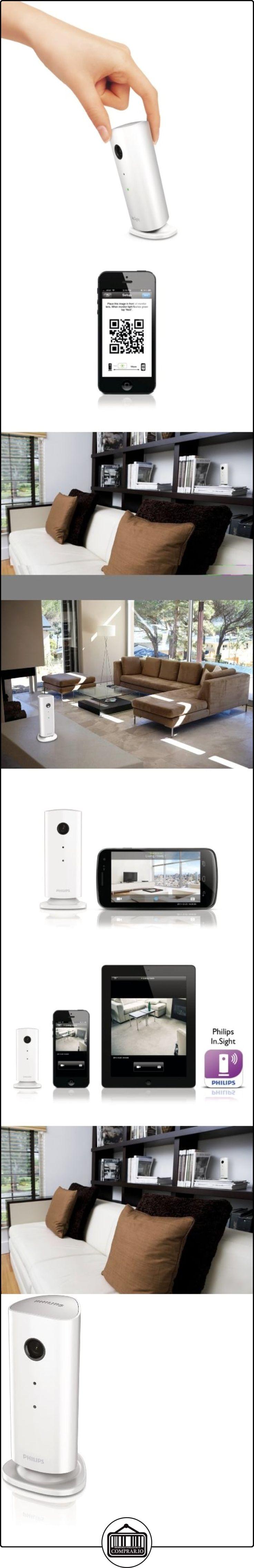 Philips M100E/12 - Cámara de vigilancia inalámbrica (WiFi), blanco  ✿ Vigilabebés - Seguridad ✿ ▬► Ver oferta: http://comprar.io/goto/B00BG5BYT4