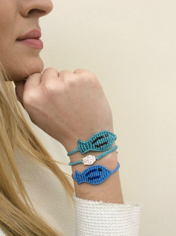 I think we all need vitamin SEA ! Under the sea with our ''new'' macrame fish bracelets  Find it all here : http://www.zayiana.com/product/macrame-fish/ tel: 210 8983 269