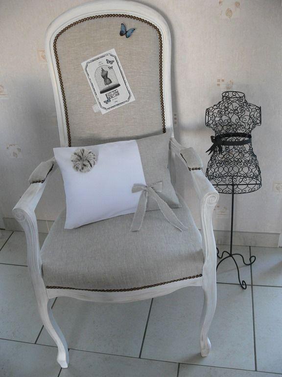 Relooking fauteuil voltaire au pays des r ves mobilier fauteuil voltaire fauteuil et - Meuble voltaire ...