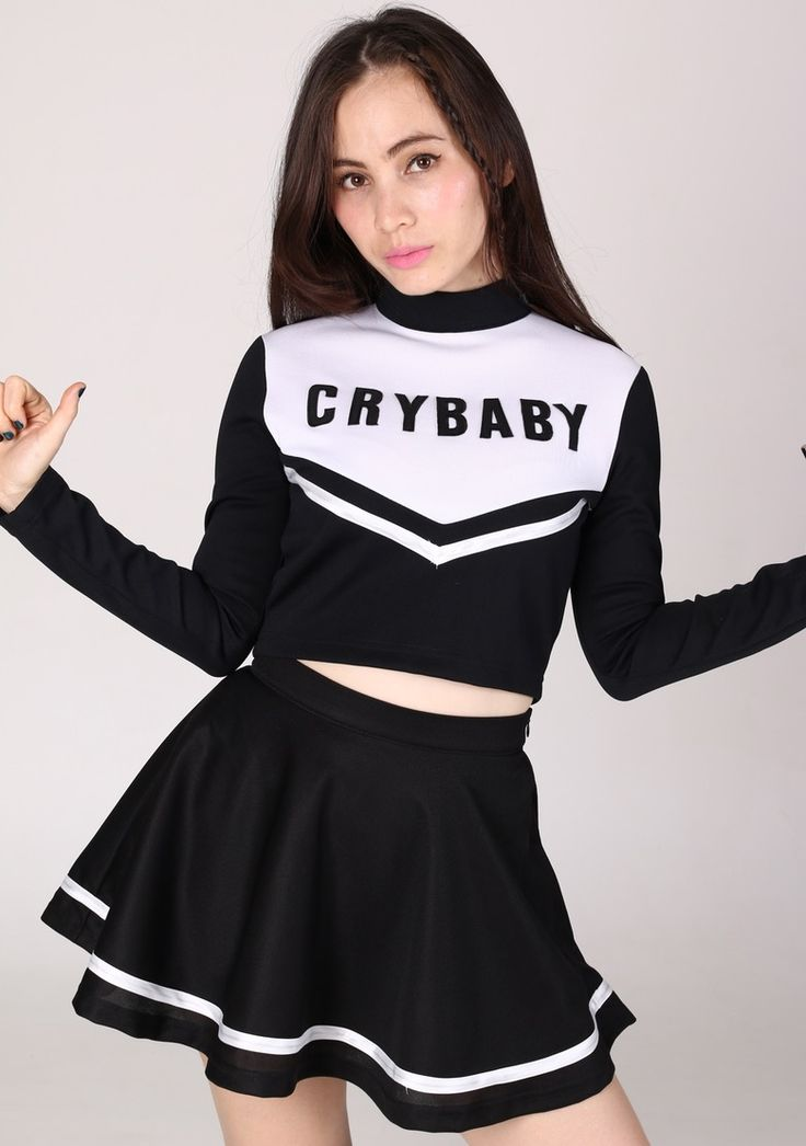 Image of  Team Crybaby in Black
