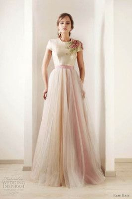 unusual wedding dresses -lovely for just formal too