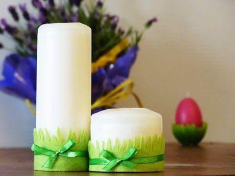 Filart przedstawia- jak wykonać dekorację na świąteczny stół #Easter, #decoration, #felt, #DIY,