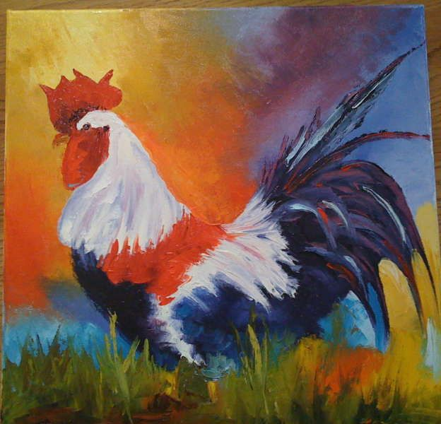 Danae Reynolds - Rooster