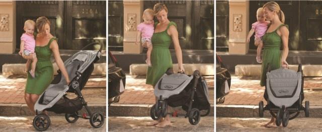 Der unglaublich einfache #Faltmechanismus der #Baby #Jogger #Kinderwagen