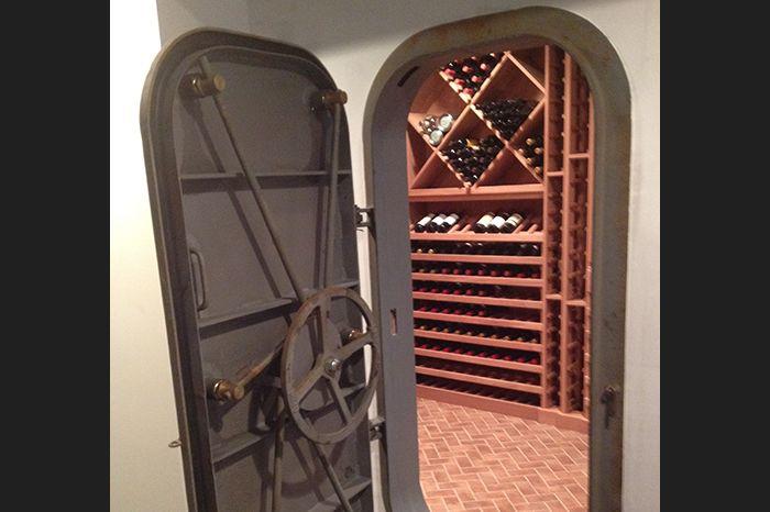 Custom Wine Cellar Doors and Entry Ways - Washington Valley Cellars