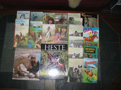 Heste og ridning, pigebøger... - dba.dk - Borup Heste og ridning, pigebøger Følgende heste- og pigebøger sælges:1. I Harmoni med Hesten; SOLGT2. Hesten – Illustreret opslagsværk: 125 kr.og3. Lotte serien 7 stk4. Britta og Silver serien: 3 stk5. Gitte serien 6 stk6. diverse ( se foto)Pris - Borup