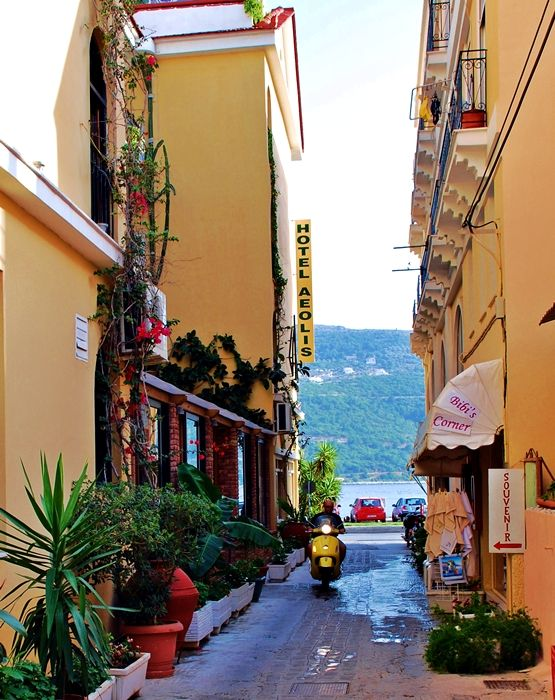 Street in Samos-town