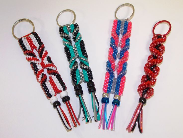 How To Make A Keychain Out Of Craft Lace