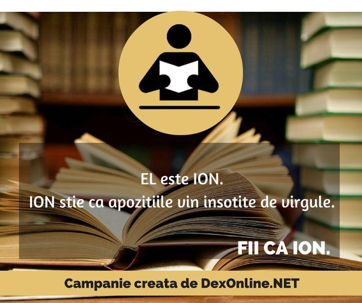Salvam limba romana impreuna! #salveazalimbaromana #dex #gramatica #FiicaIon