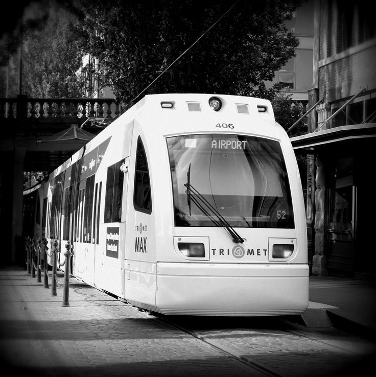 Portland, Oregon Max Public Transportation