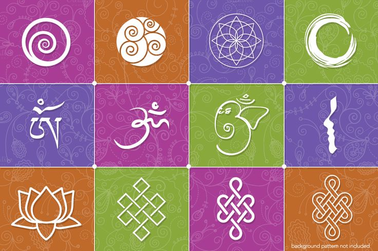 Yoga Logo Concepts + Symbols by Bootstrap Boogie on @creativemarket