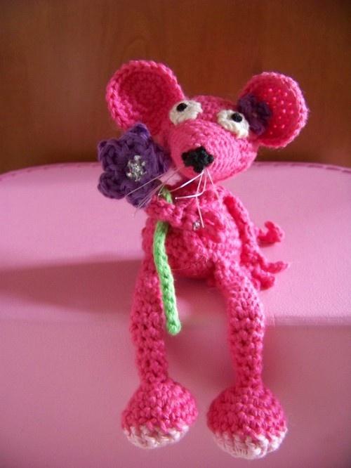 Marleen de muis. Gratis patroon