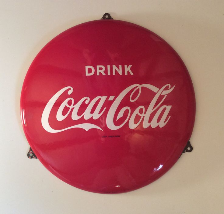 Coca Cola sign / Schild DZ
