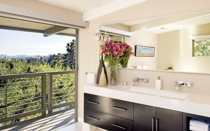 gorgeous bathroom design by jeff lewis for the home