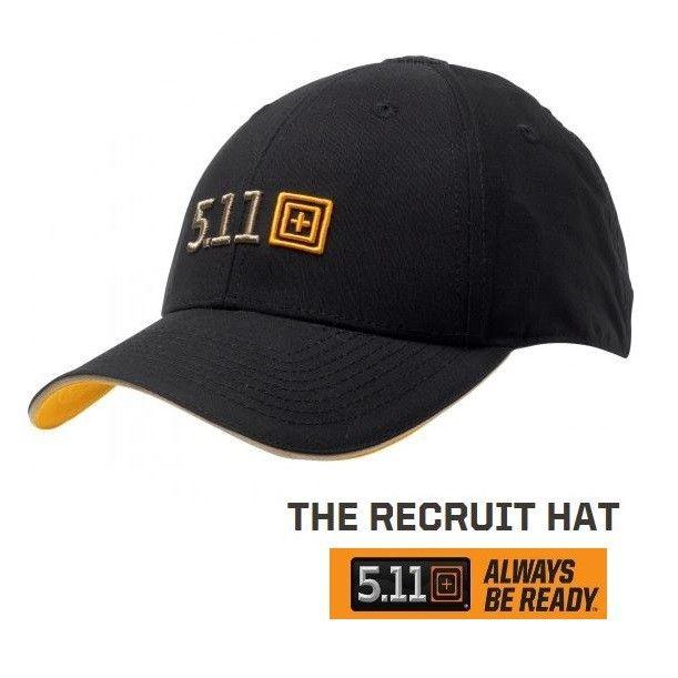5.11 RECRUIT HAT BLACK