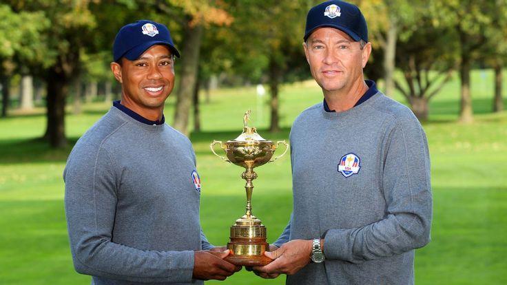 Tiger Woods, Jim Furyk, Steve Stricker named 2016 Ryder Cup assistant captains.