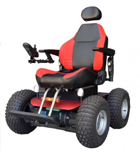Out And About Healthcare A0161 Beach 4x4 All Terrain Electric Wheelchair Wheelchairs