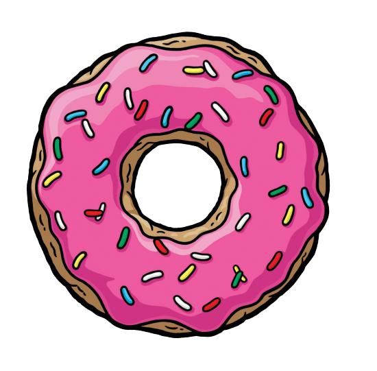 Cartoon Doughnut Factory: 25+ Best Ideas About Simpsons Donut On Pinterest