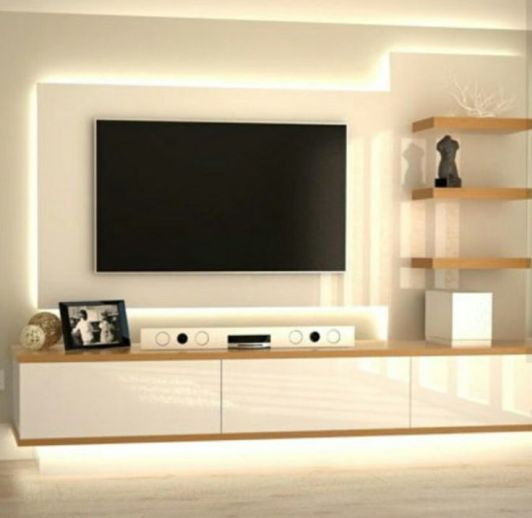 exciting modern tv wall units living room   85 Interior Designs Tv Wall Units   Tv unit decor, Modern ...