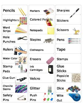 I created these labels using Avery 5160 Template that prints 30 labels to a page. I plan to use these in my classroom to label my drawers so that a...