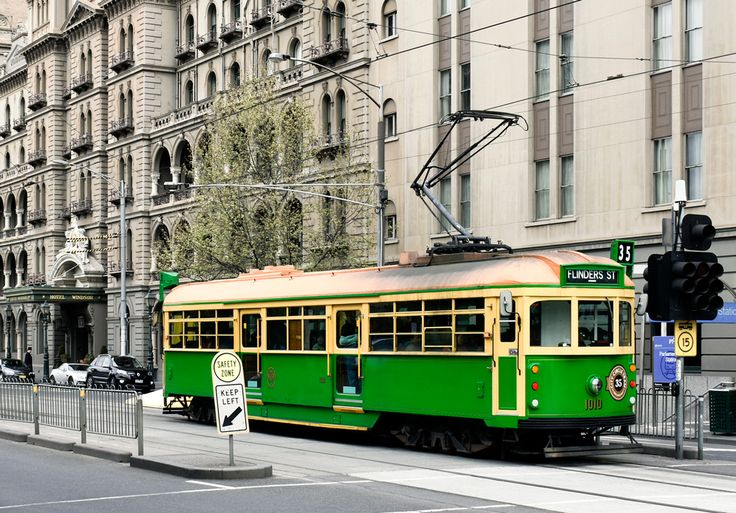'W Class at the Windsor'. Spring Street, Melbourne. © G.C. Campbell.