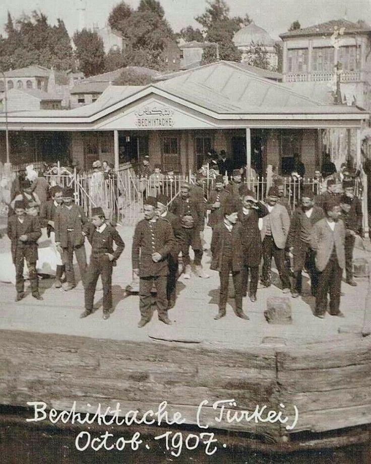 Ottoman & İstanbul & Beşiktaş 1907