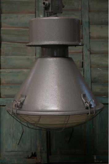 Robuuste industriële fabriekslamp