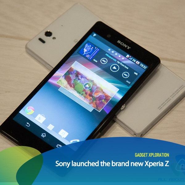 Dalam acara CES (Consumers Electronics Show) di Amerika Serikat. Sony meluncurkan android terbarunya bernama Xperia Z! Sony Xperia Z didukung prosesor 1.5GHz quad-core Snapdragon S4, 2GB RAM, 4G LTE, & kamera 13-megapixel. Layarnya berukuran 5-inch dan 1080 HD (1920 x 1080-pixel).     *as posted on XL Rame