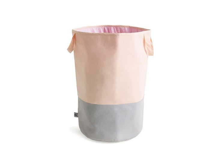 Grey and peach storage sack / SACK ME Australian kids decor company / Soft accessories for your home