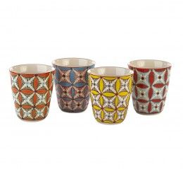 Hippy Cup Set of 4 pcs